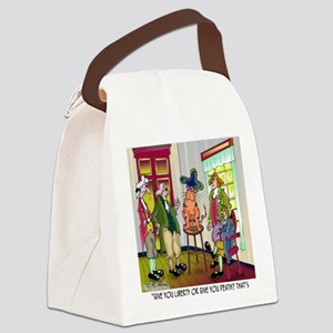 5682_history_cartoon Canvas Lunch Bag