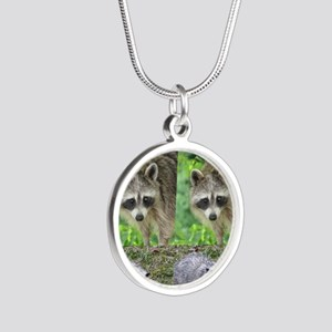 Ra10.526x12.885(203) Silver Round Necklace