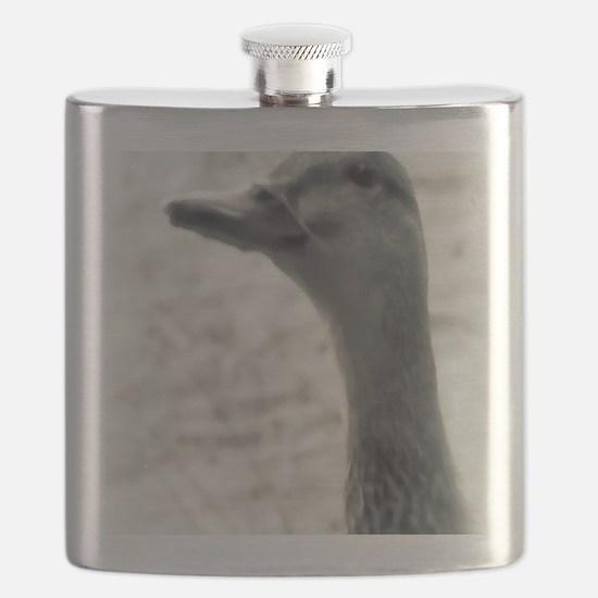 Mallard Painting Flask