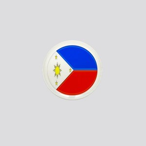 Philippine Flag Mini Button