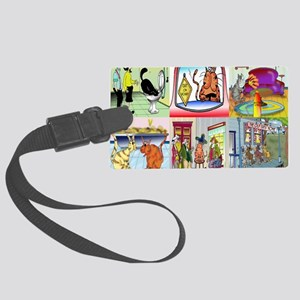 calendar_cover_front_hor Large Luggage Tag