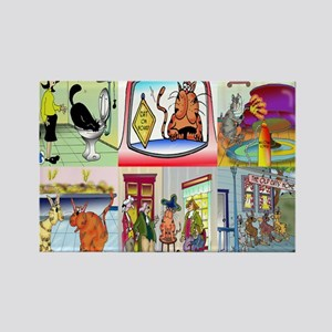 calendar_cover_front_hor Rectangle Magnet