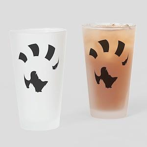 Red Panda (transparent ver.) Drinking Glass