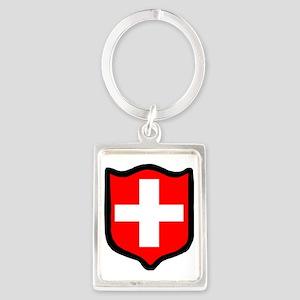 Switzerland Portrait Keychain