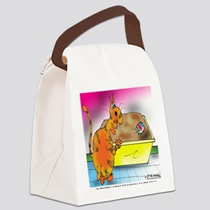 6794_easter_cartoon Canvas Lunch Bag