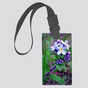 Forget Me Not Large Luggage Tag