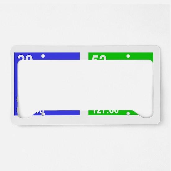 cutePRIMARY License Plate Holder
