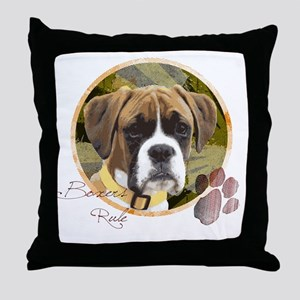 boxers_rule Throw Pillow