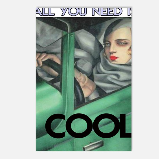 COOL = ITS ALL YOU NEED Postcards (Package of 8)