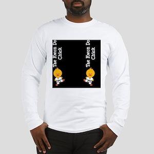 TaeKwonDoChickFlipFlopsCP Long Sleeve T-Shirt