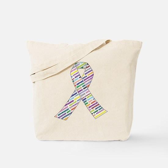 all cancer rep ribbon 2.1.gif Tote Bag