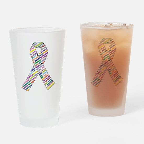 all cancer rep ribbon 2.1.gif Drinking Glass