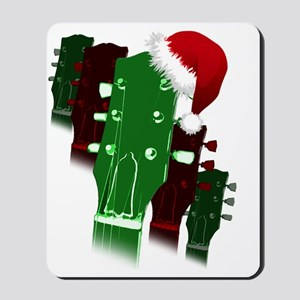christmas headstock design Mousepad