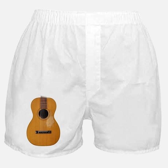 folk guitar Boxer Shorts