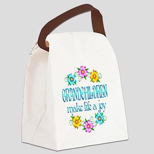 GRANDCHILDREN Canvas Lunch Bag