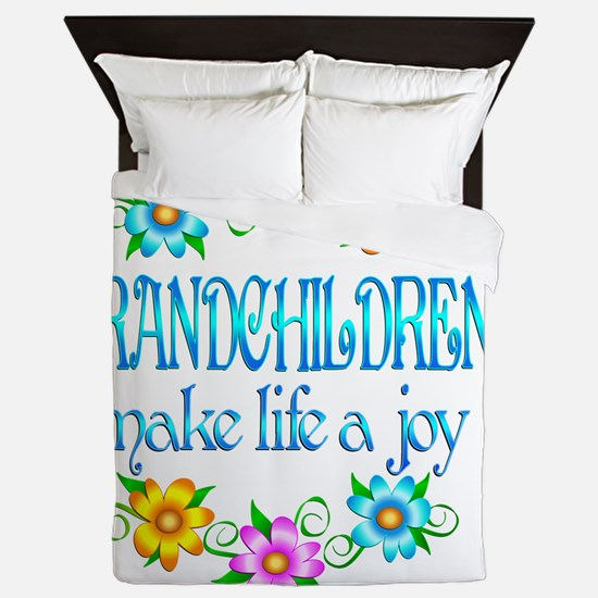 GRANDCHILDREN Queen Duvet