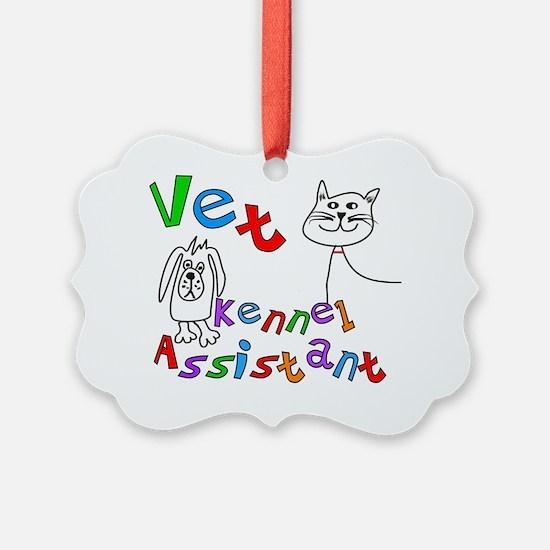 Vet Kennel Assist 1 Ornament