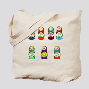 Russian Days of the Week Tote Bag