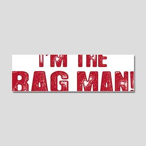 BAG MAN_2 Car Magnet 10 x 3