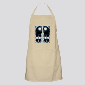Kazi Blue White Apron
