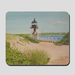 Brandt Point Lighthouse - Nantucket Mousepad