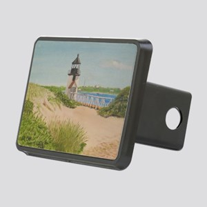 Brandt Point Lighthouse -  Rectangular Hitch Cover