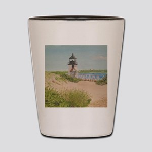 Brandt Point Lighthouse - Nantucket Shot Glass