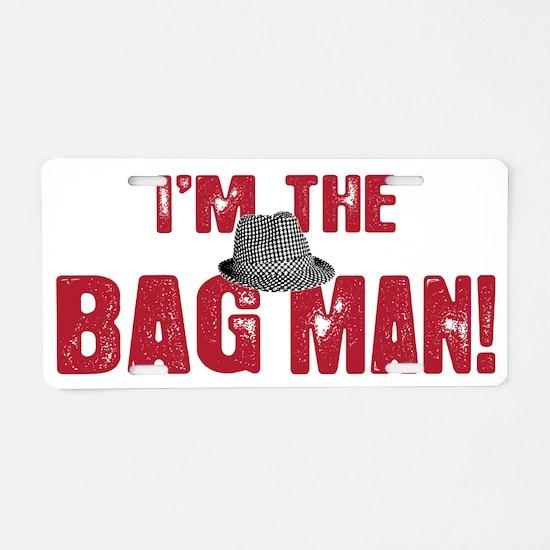 BAG MAN_3 Aluminum License Plate