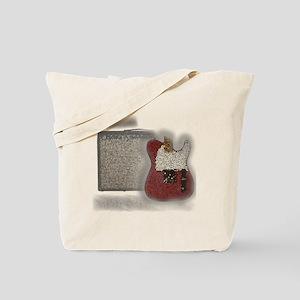 guitar and amp mosaic Tote Bag