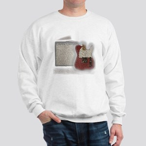 guitar and amp mosaic Sweatshirt