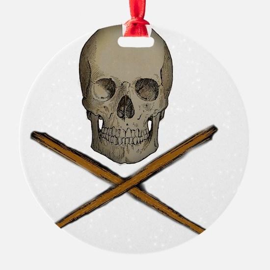 skull and stick bones Ornament
