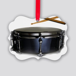 snare and sticks Picture Ornament