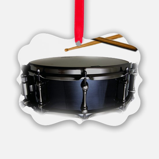 snare and sticks Ornament