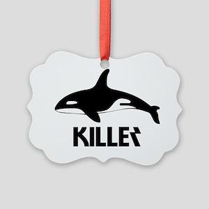 Killer whale Picture Ornament