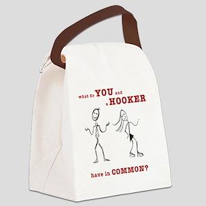 stickfigure-card2 Canvas Lunch Bag