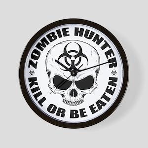 Zombie Hunter 4 Wall Clock