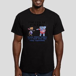 PartiesWhite Men's Fitted T-Shirt (dark)