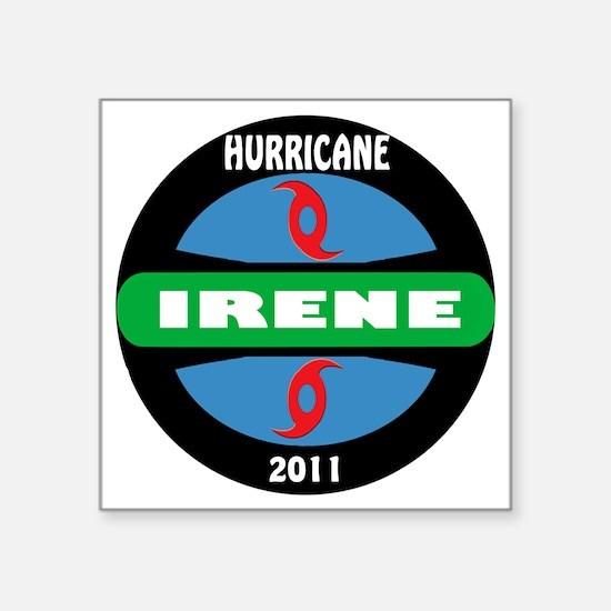 """Hurricane_Irene_2011 Square Sticker 3"""" x 3"""""""