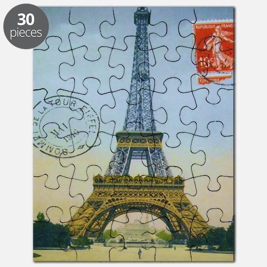 eiffelpostcardmpad Puzzle