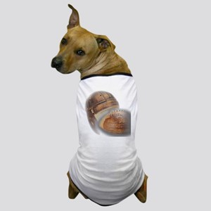 vintage football helmet Dog T-Shirt