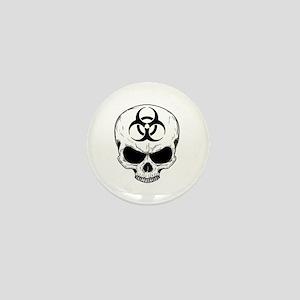 Zombie Hunter 4 white Mini Button