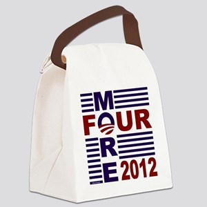 Four More 2012 Canvas Lunch Bag