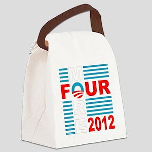 Four More 2012 dk Canvas Lunch Bag