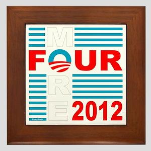 Four More 2012 dk Framed Tile