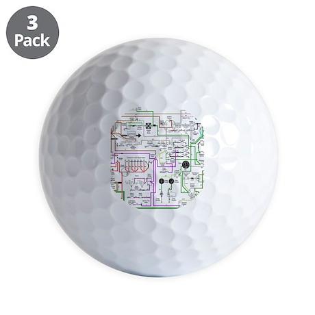 triumph spitfire golf balls cafepress