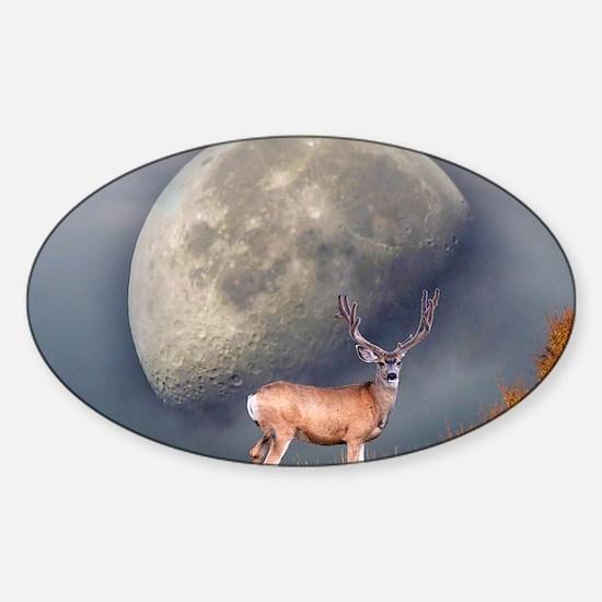 Dream buck 2 Sticker (Oval)