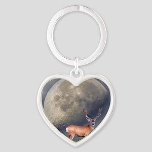 Dream buck 2 Heart Keychain