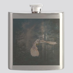 owl at midnight Flask