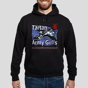 Tartan Army Girls Scotland Hoodie (dark)