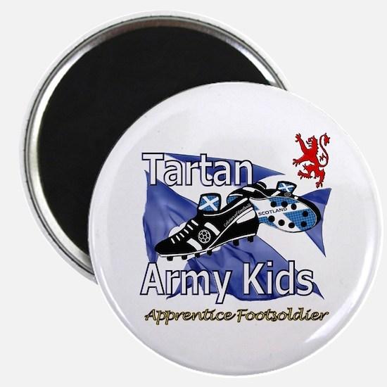 Tartan Army Kids Scotland Magnet
